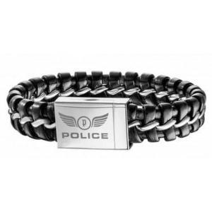 pulsera-cuero-negro-police